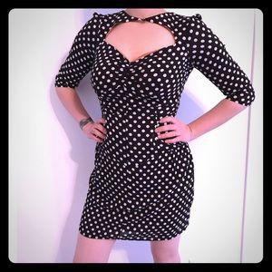 Brooklyn Industries Polka Dot Dress - Size 0